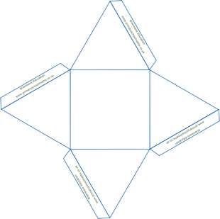 Net for a square based pyramid